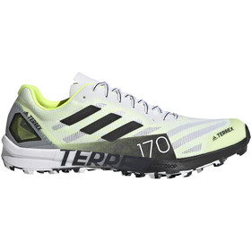 adidas TERREX Speed Pro Trail Running Shoes Women, feather white/solar yellow/core black